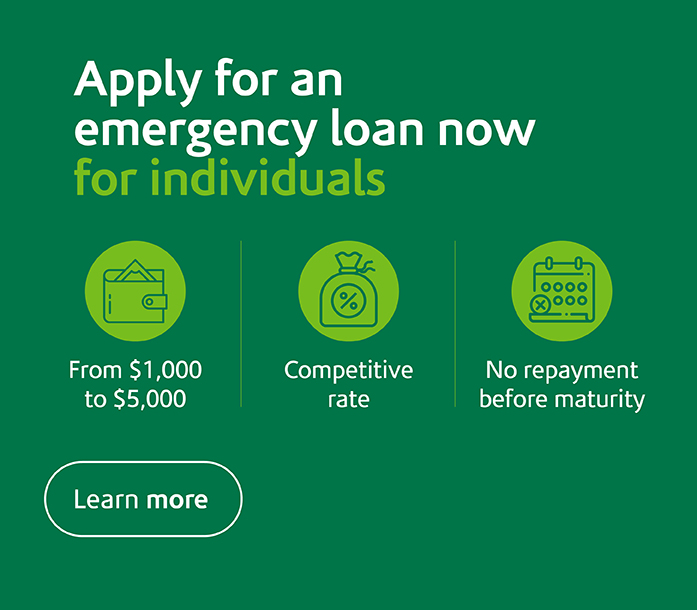 Emergency loan for individuals