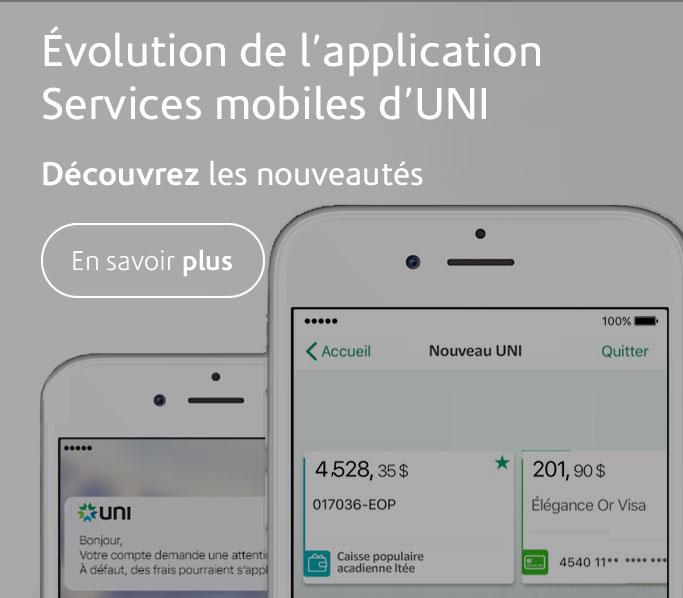Services mobile UNI