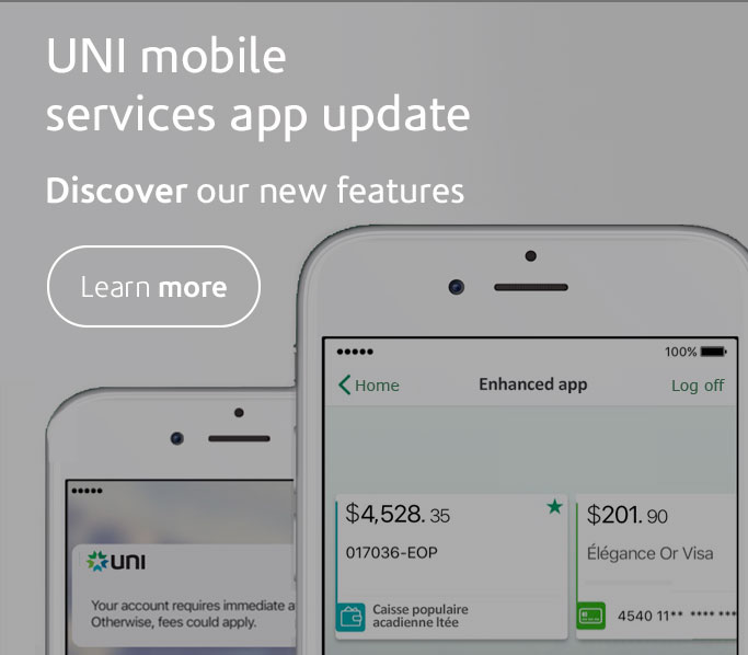 UNI mobile app