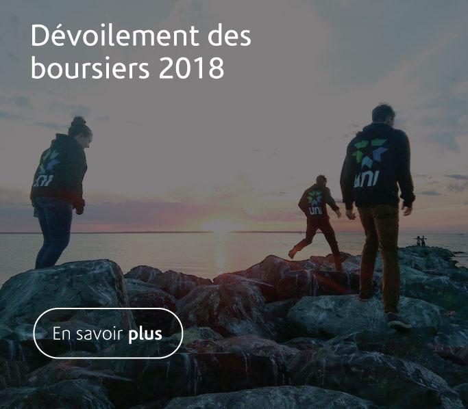 UNI dévoile le nom de ses boursiers 2018