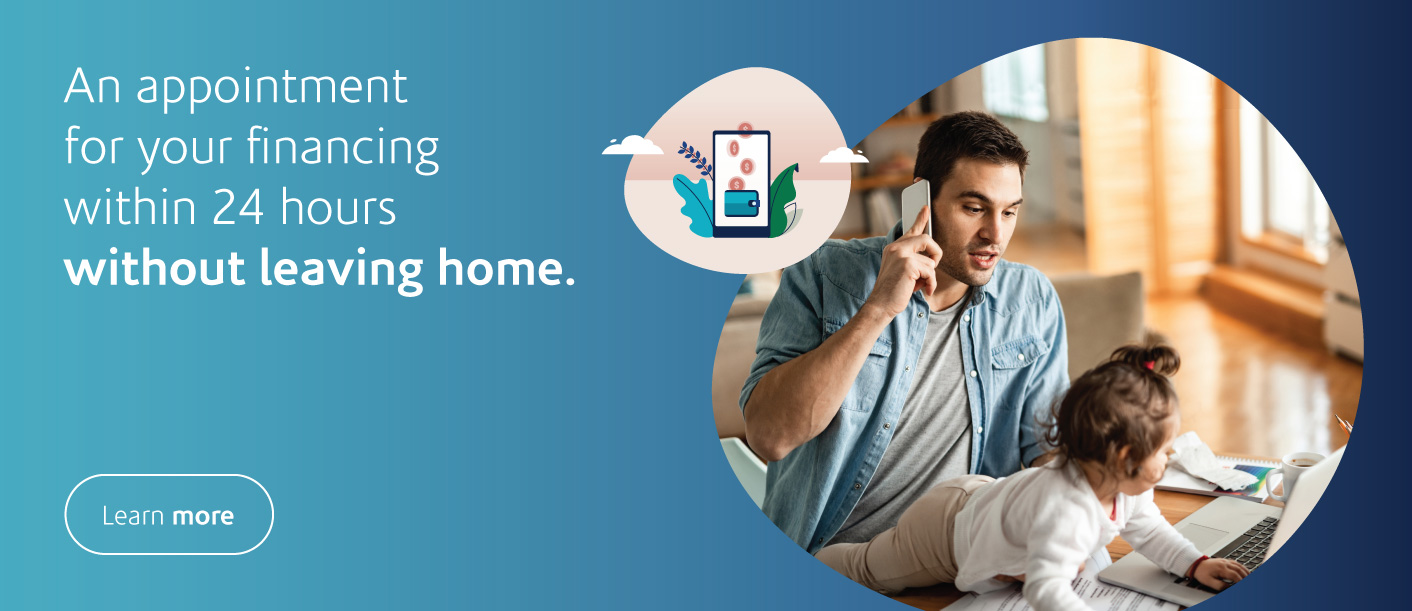 Stay at home financing