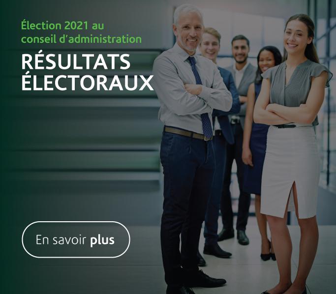 Résultats électoraux 2021